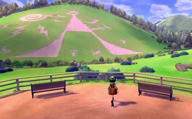 pokemon sword shield hill marking