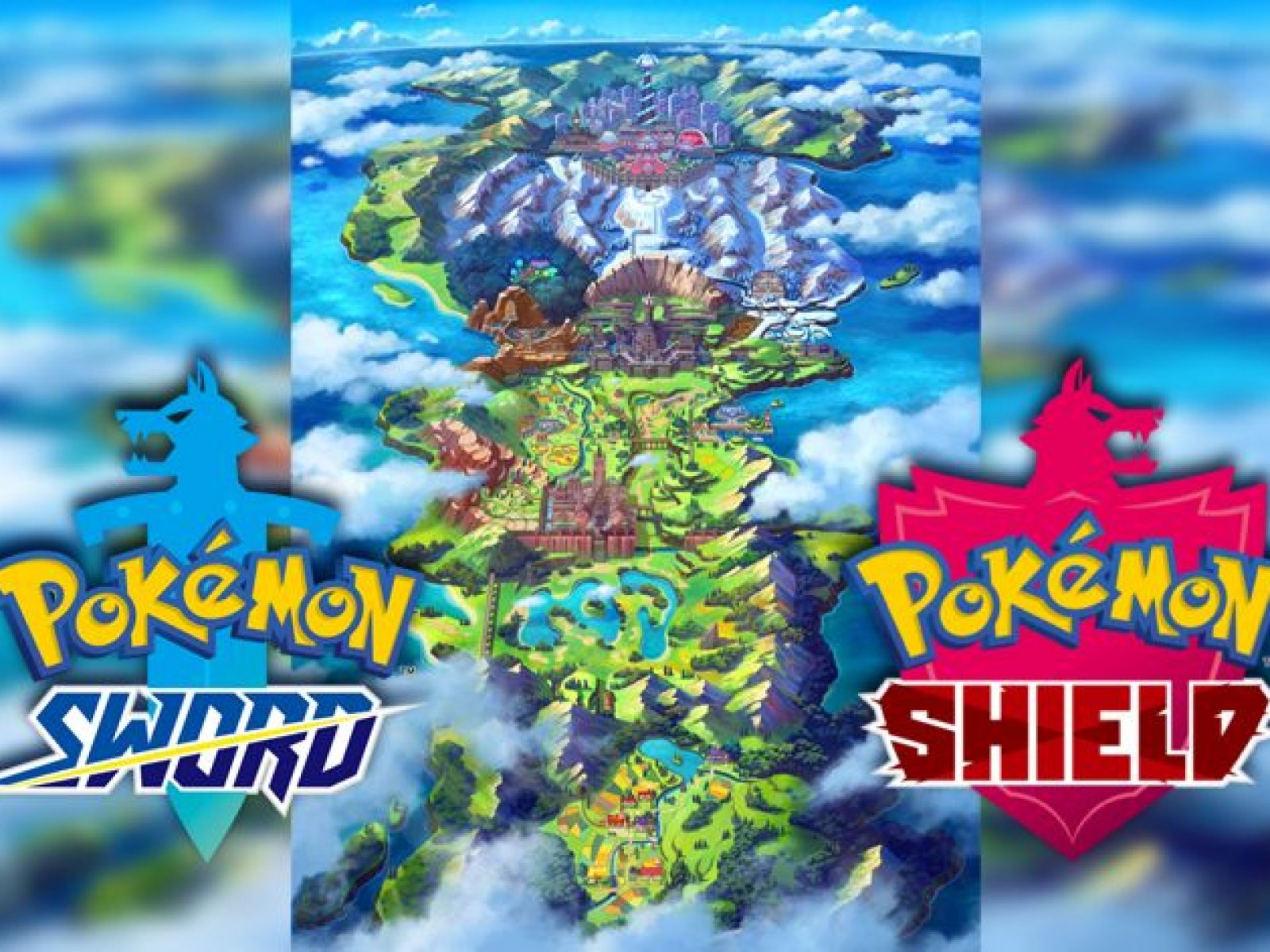 Pokemon Sword And Shield Region Likely Based On The Uk Gym
