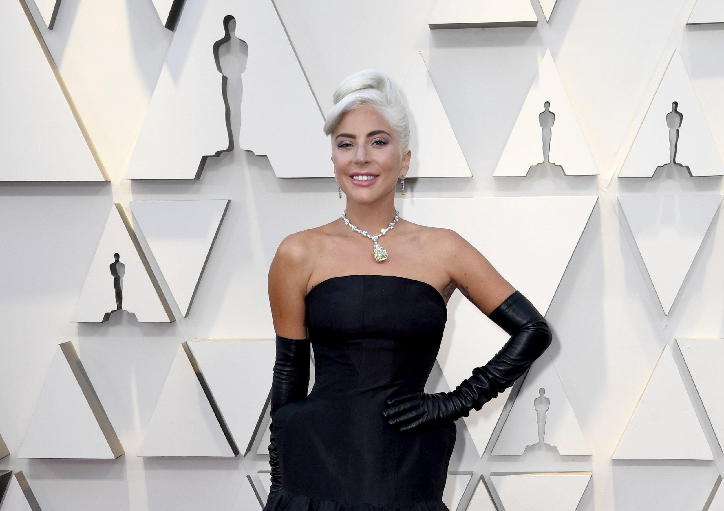 Lady Gaga's Oscars Necklace Was Last Worn By Audrey Hepburn