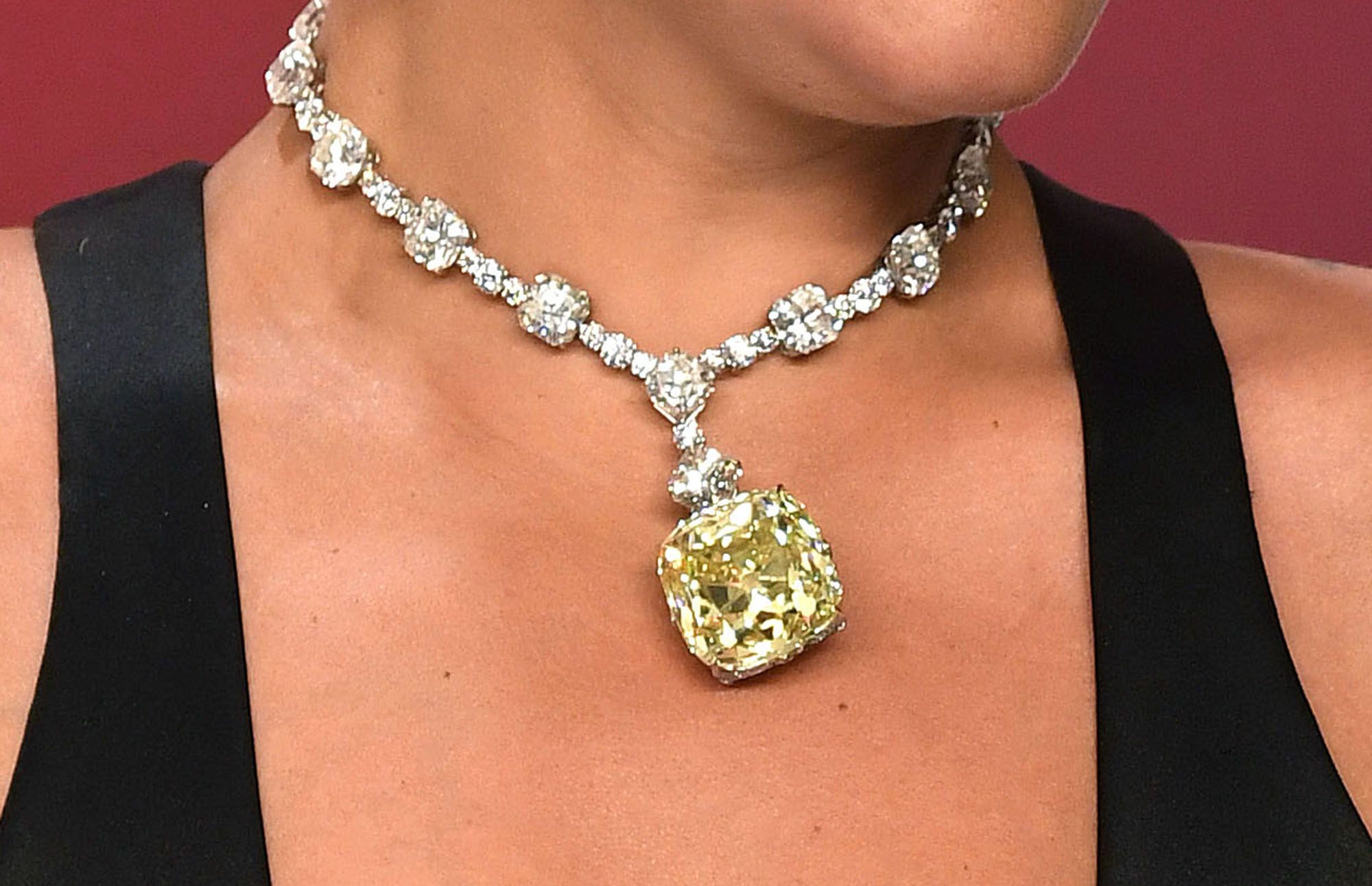 Celebrity new mom necklace