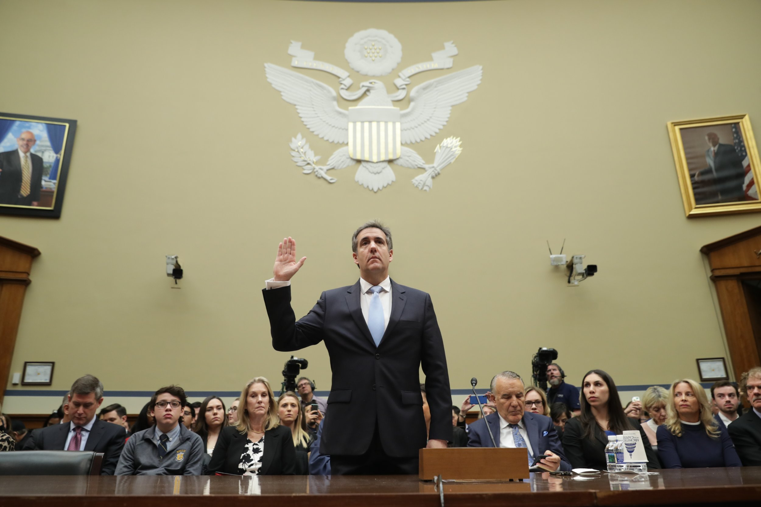 Michael Cohen, testimony, impeachment, Donald Trump, Democrats