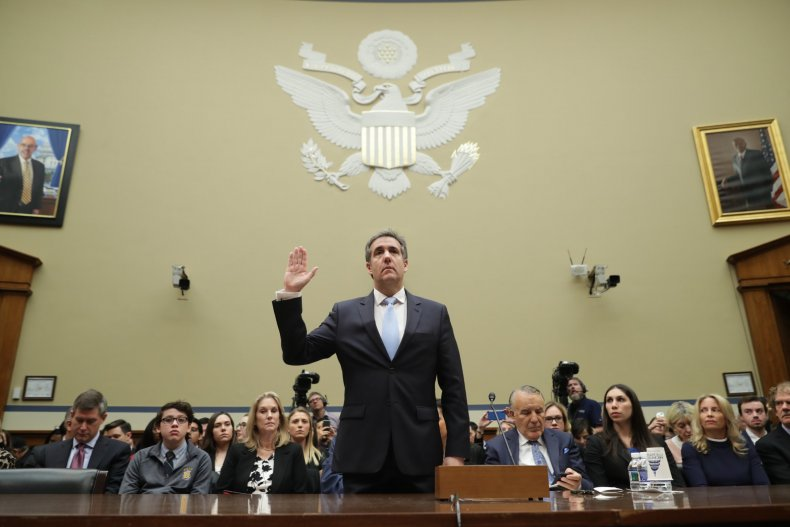 Michael Cohen, testimony, impeachment, Donald Trump, Democrats