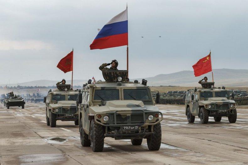 RussiaChinaVostokDrillsFlags