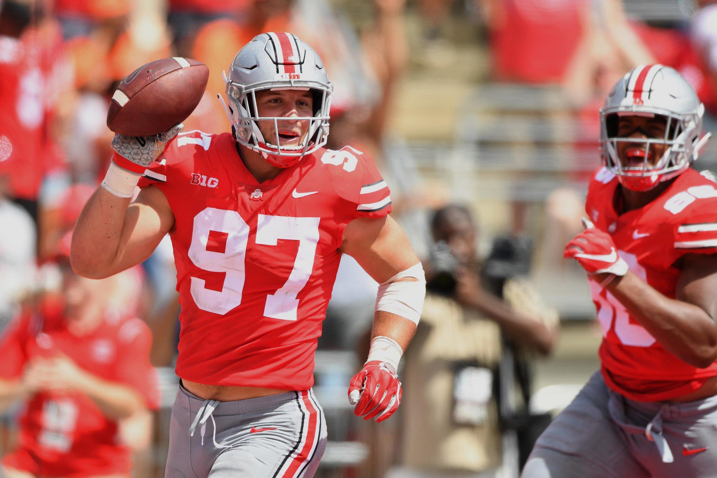 Nick Bosa, Ohio State Buckeyes