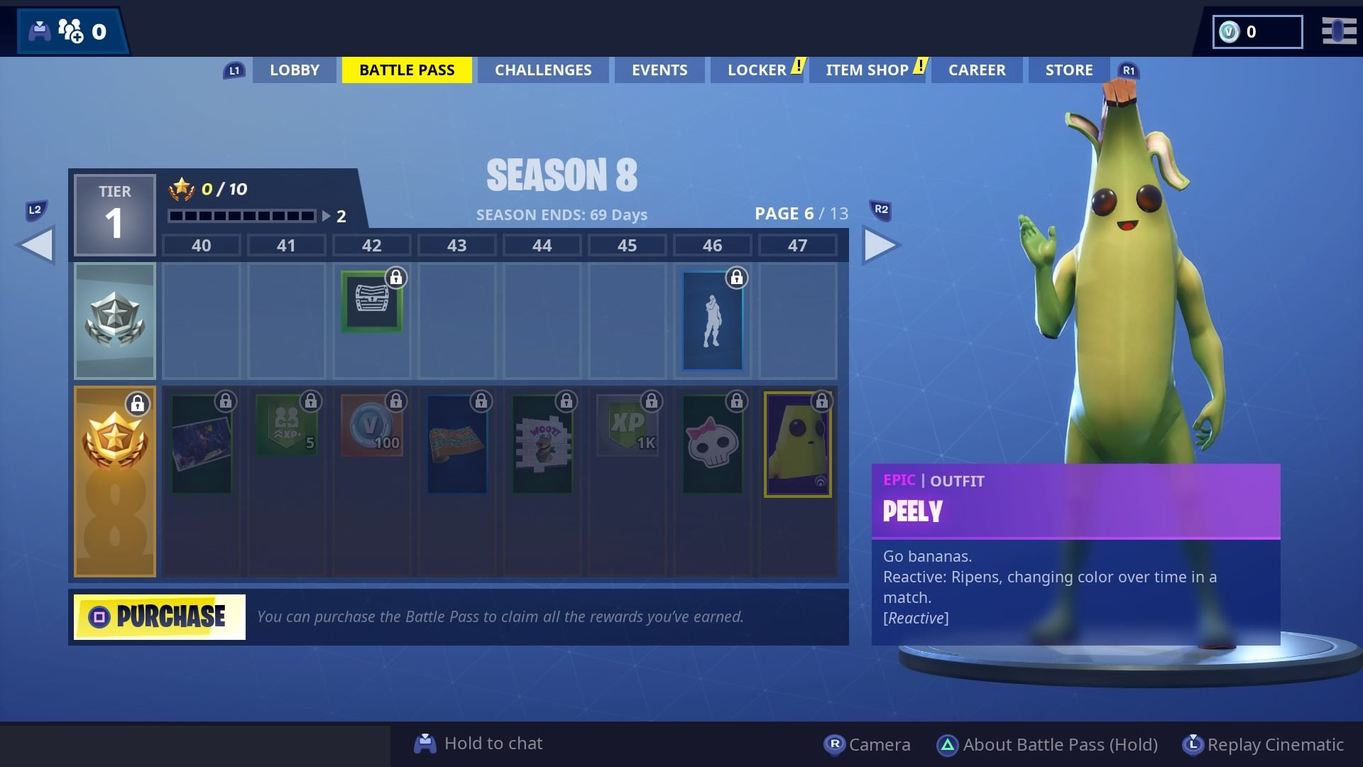 Fortnite Season 8 Battle Pass Skins To Tier 100 Luxe