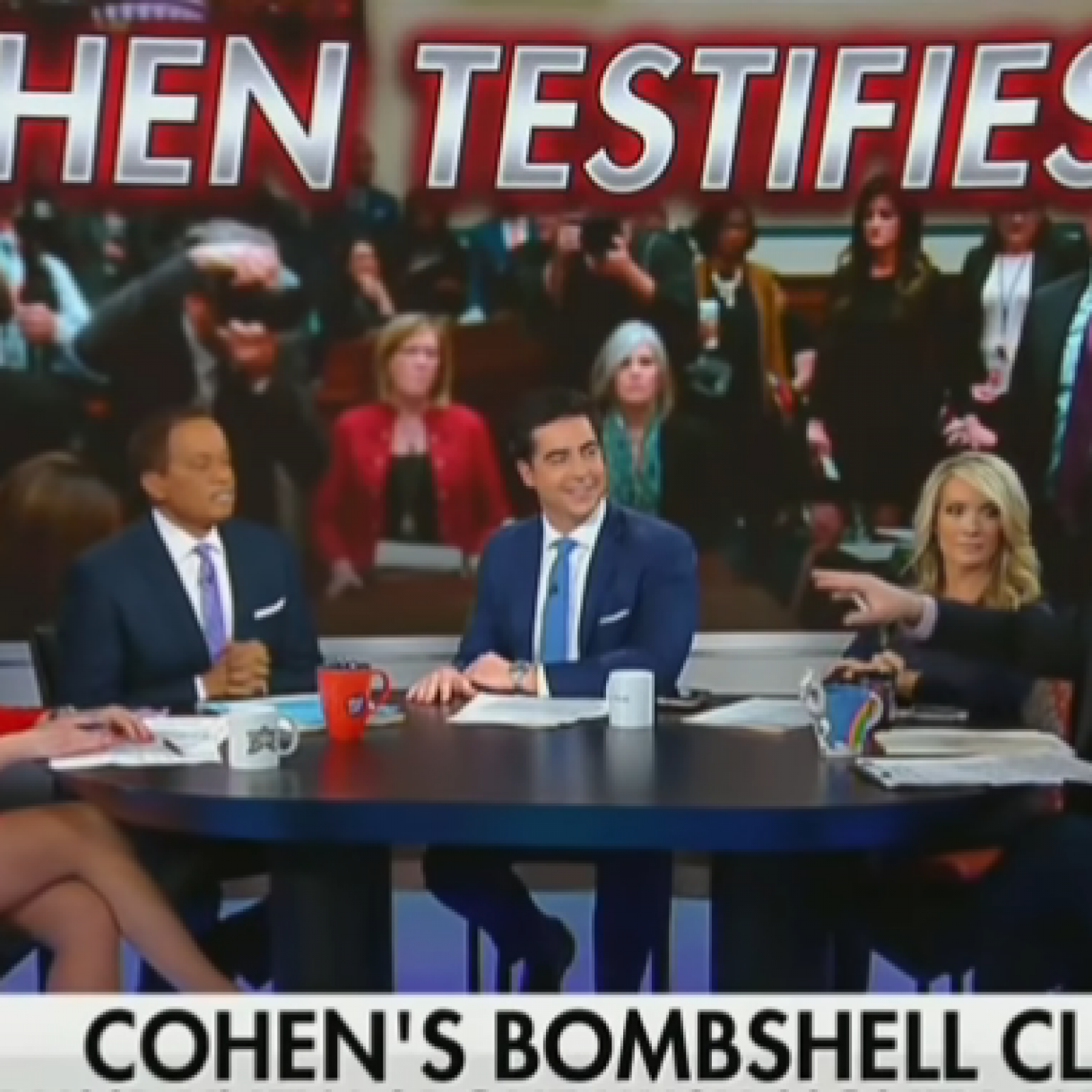 Fox News Panel Threatens To Throw Co-Host Off Set For