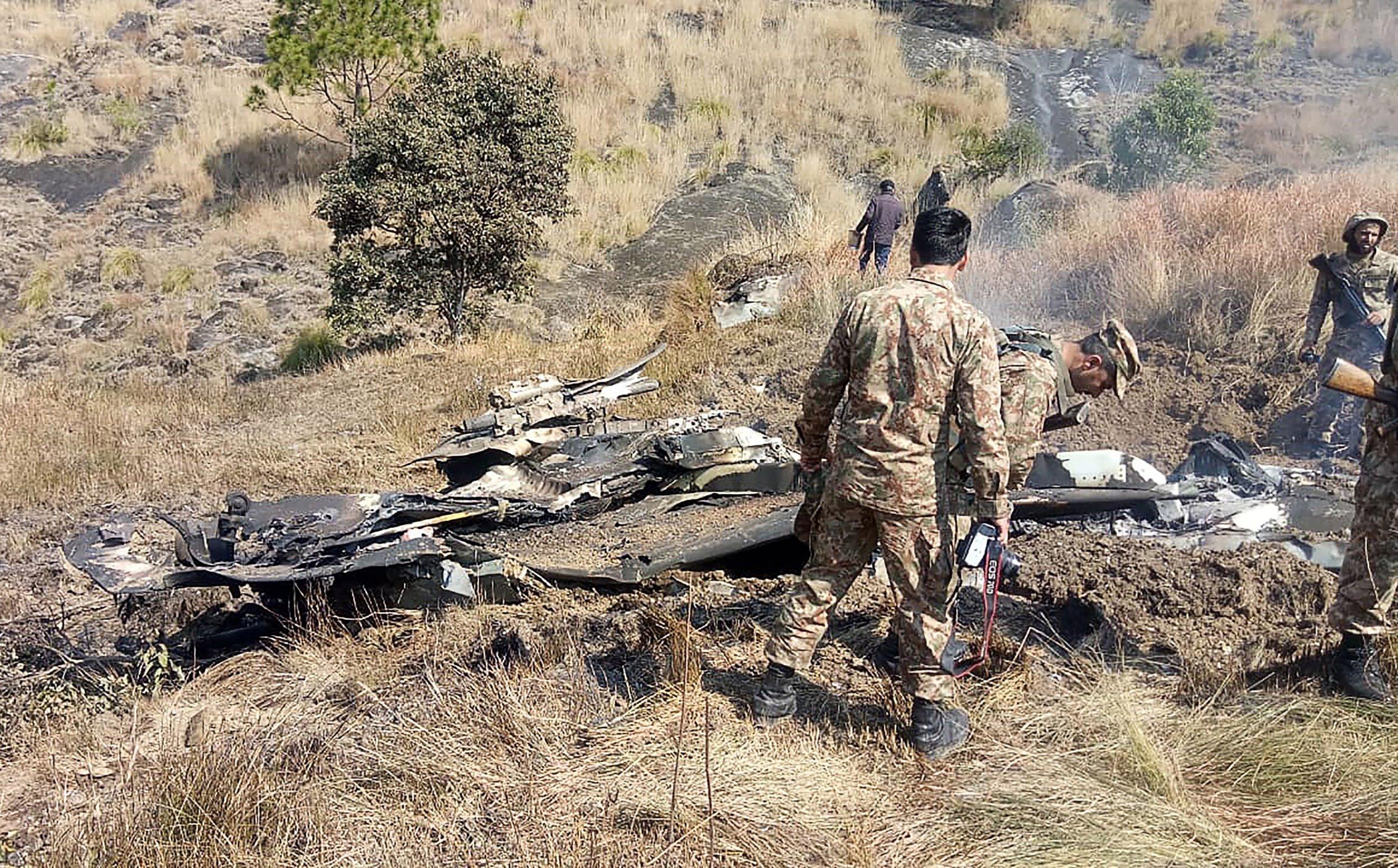 India, Pakistan, jet, shootdown, border, conflict
