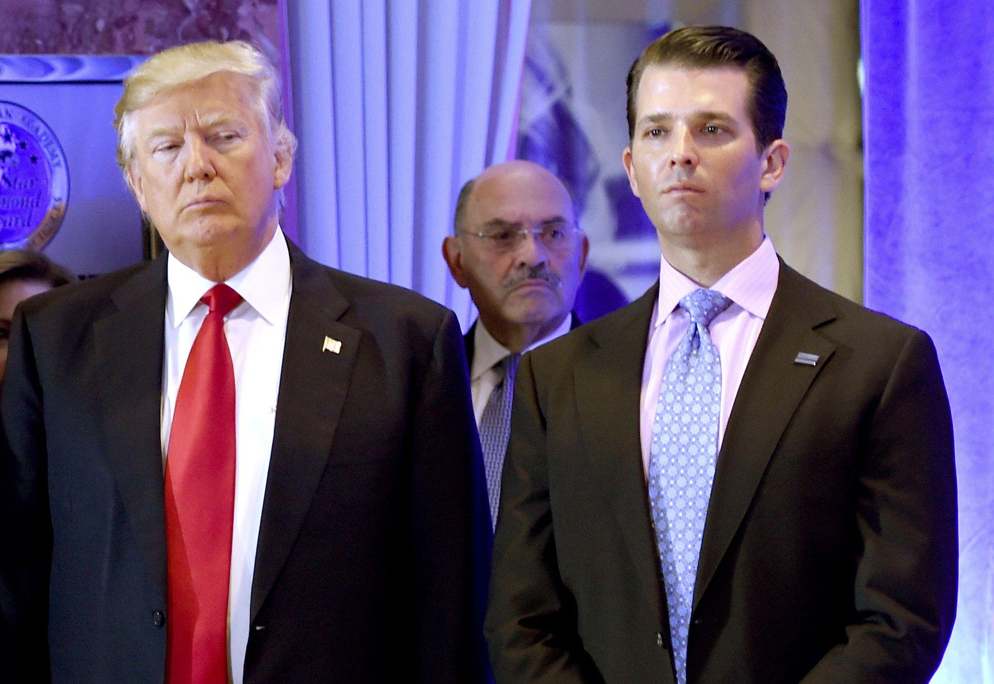 Donald Trump Jr, Allen Weisselberg, Michael Cohen, Democrats