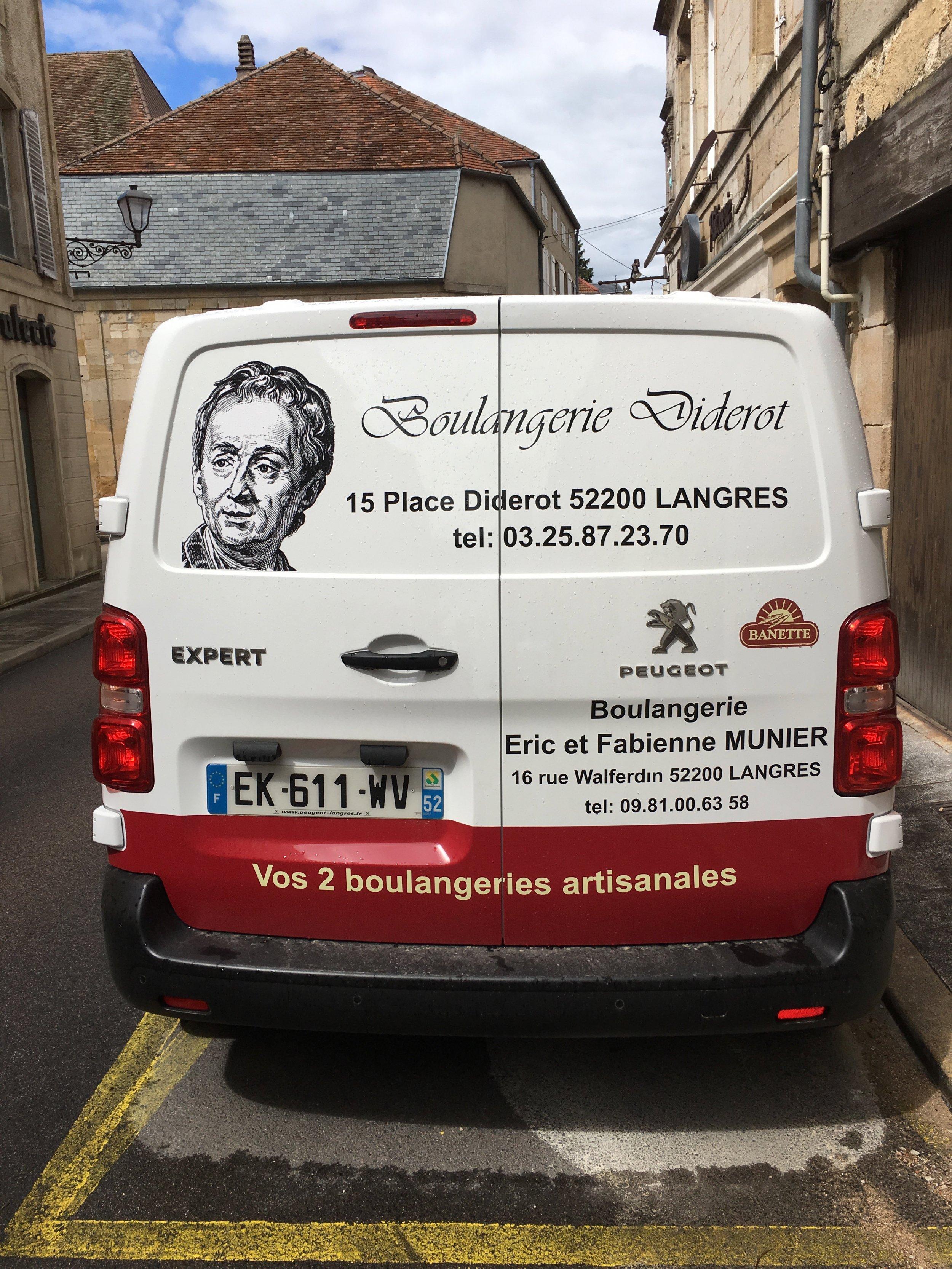 Denis Diderot's France 2 - LANGRES - BOULANGERIE TRUCK