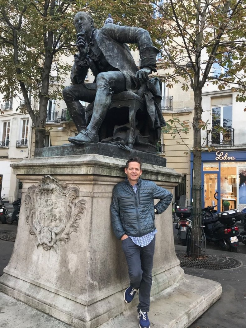 Denis Diderot's France 5 - Statue of Diderot