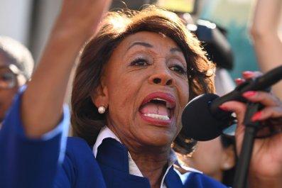 Maxine Waters Donald Trump finances
