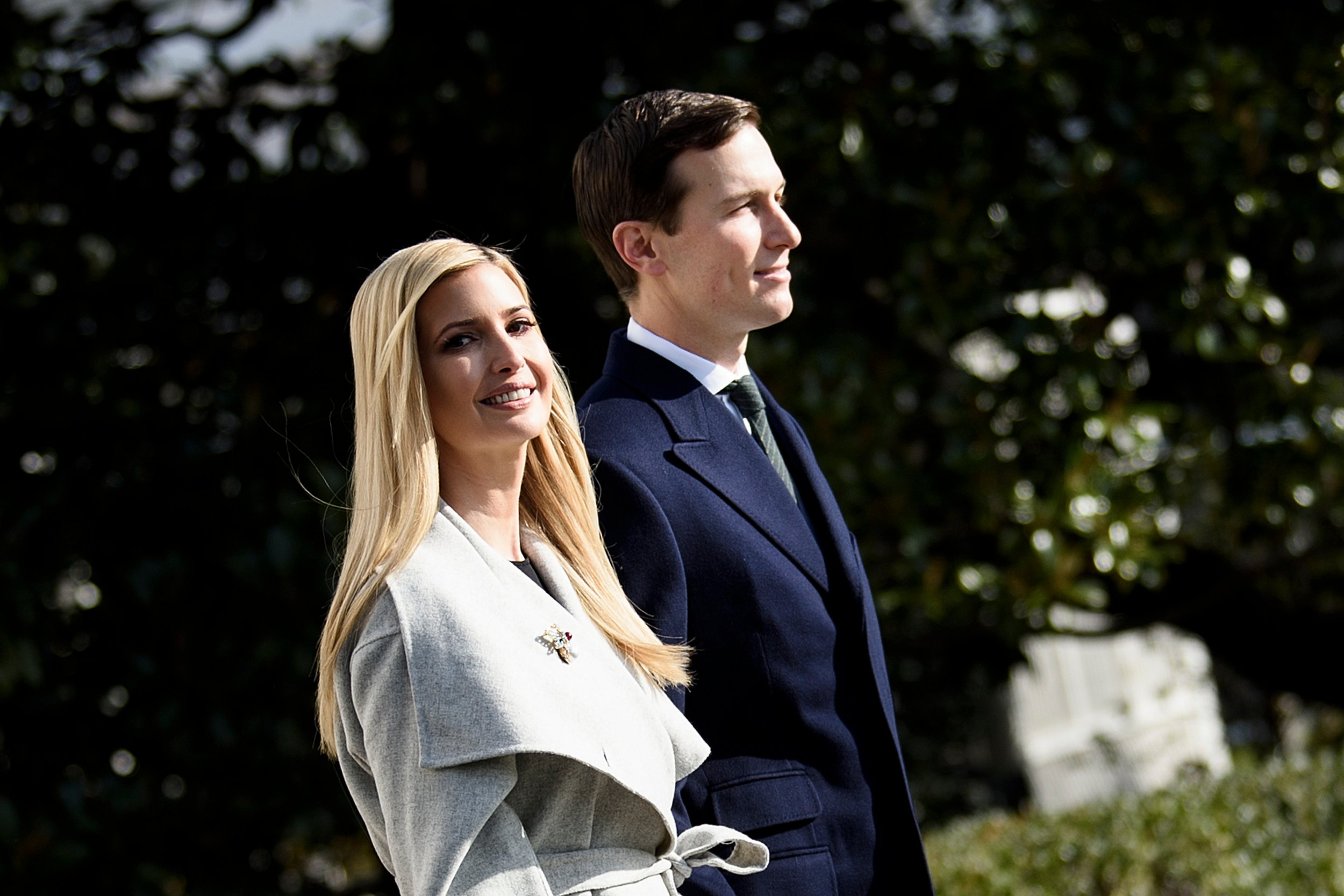 Ivanka Jared Kushner Donald Trump Chris Christie investigation