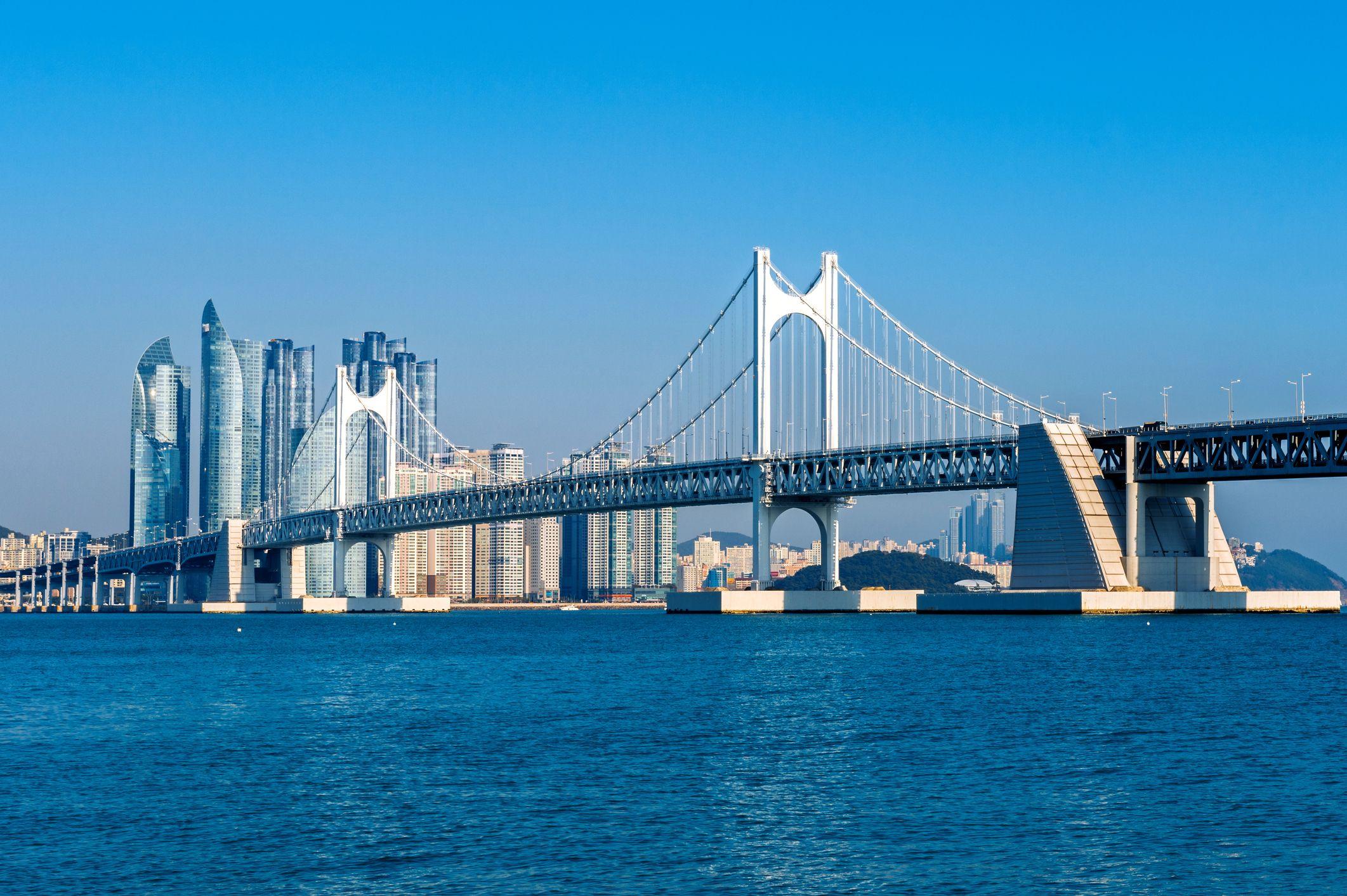 Gwangan bridge, Busan, South Korea