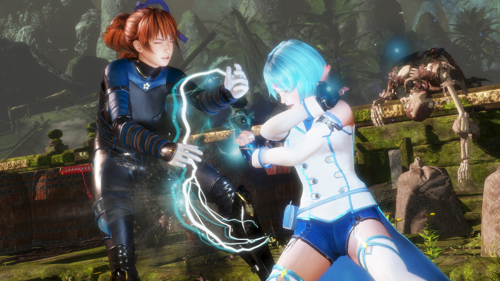 Dead Or Alive 6 Review Simpler Flashy Fighting Is Newcomer