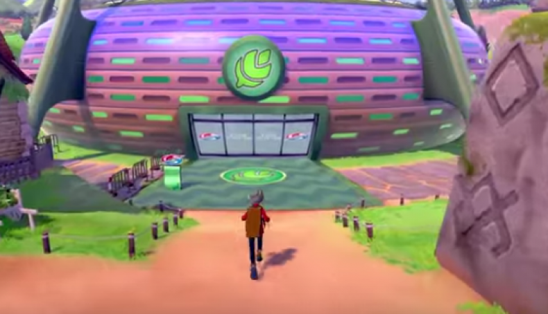 pokemon sword shield grass gym