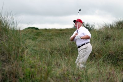donald, trump, tweet, corrupt, ethics, golf