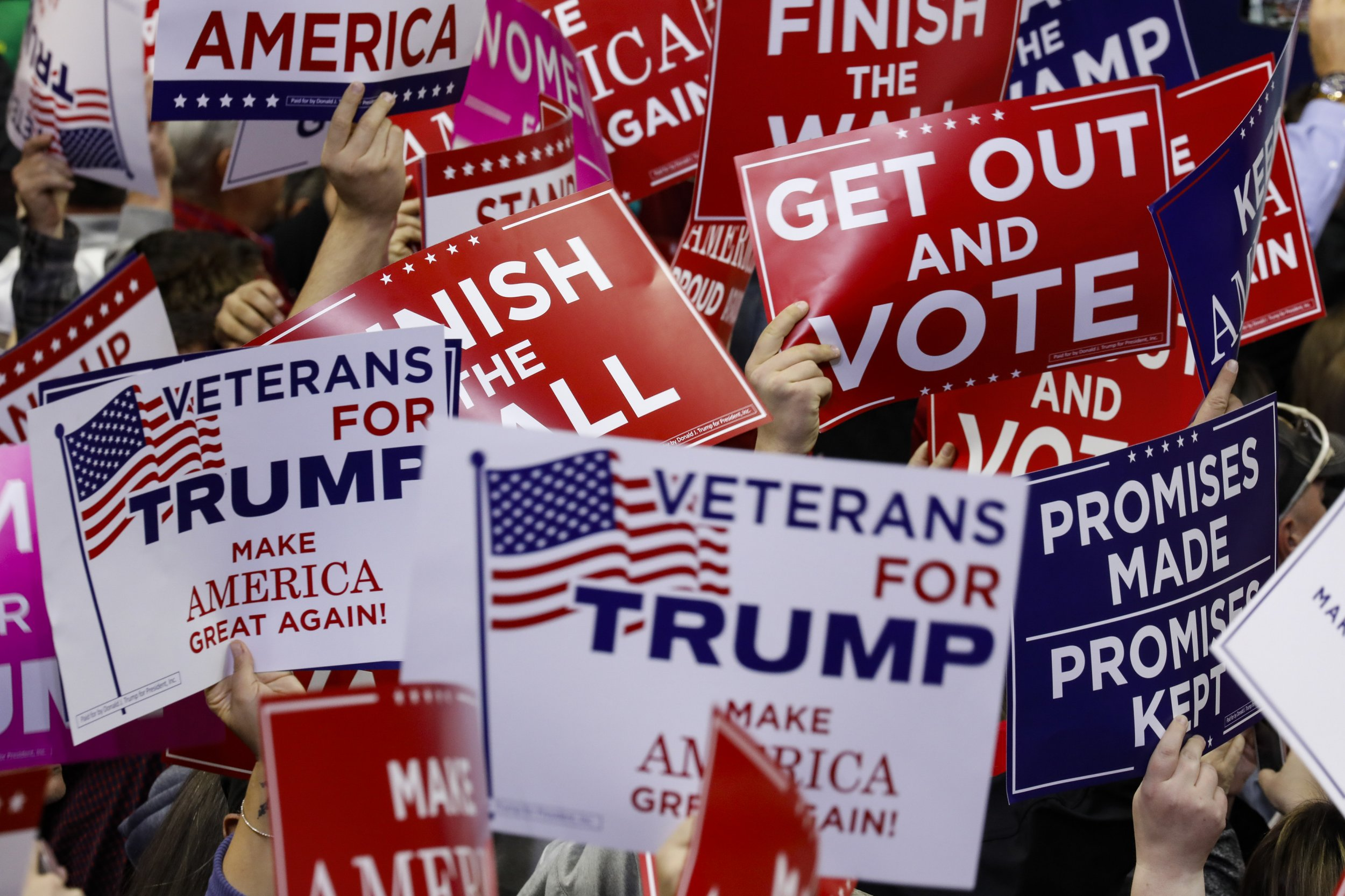 Trump voters, socialist poll