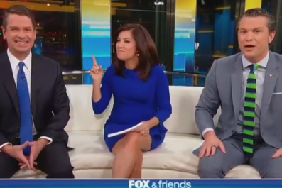 Fox & Friends toxic masculinity