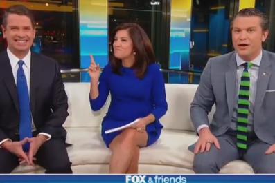 Fox & Friends toxic masculinity