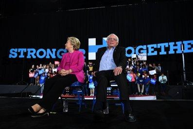 Hillary, Bill Clinton, Bernie Sanders, Donald Trump