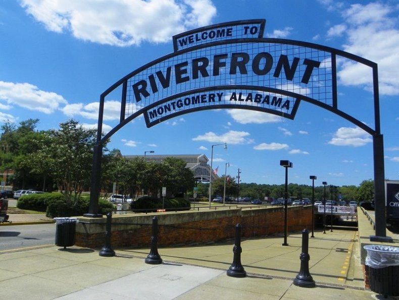 Montgomery Alabama Travel - Riverfront Park