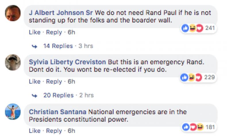 Rand Paul Facebook