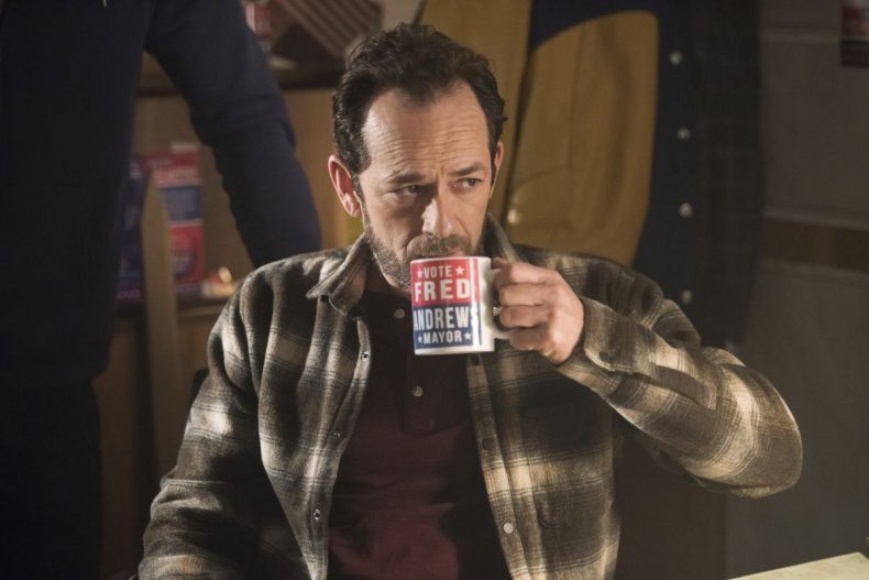 Luke Perry as Fred on Riverdale