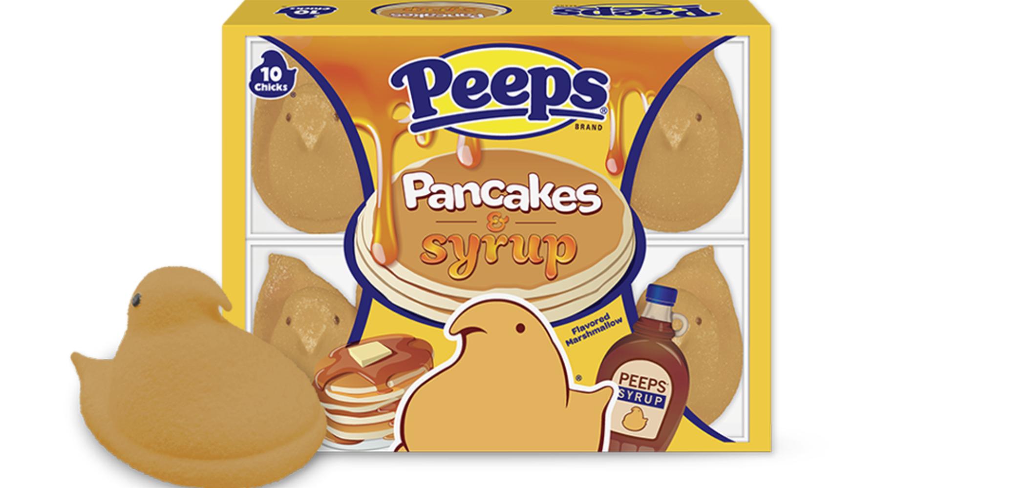 peeps pancake syrup