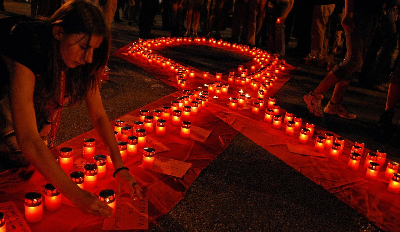 HIV file photo