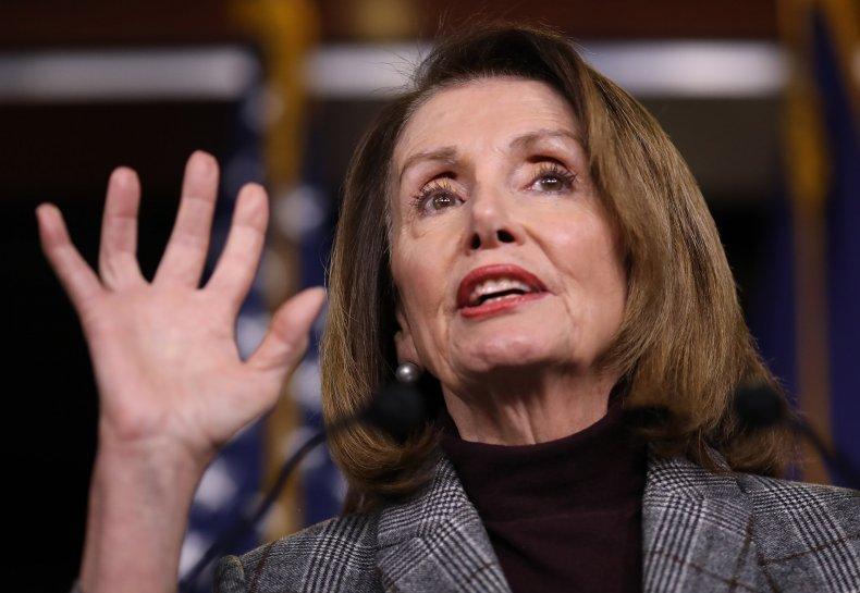 Nancy Pelosi Donald Trump national emergency wall