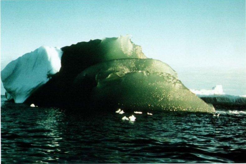 green iceberg wendell sea