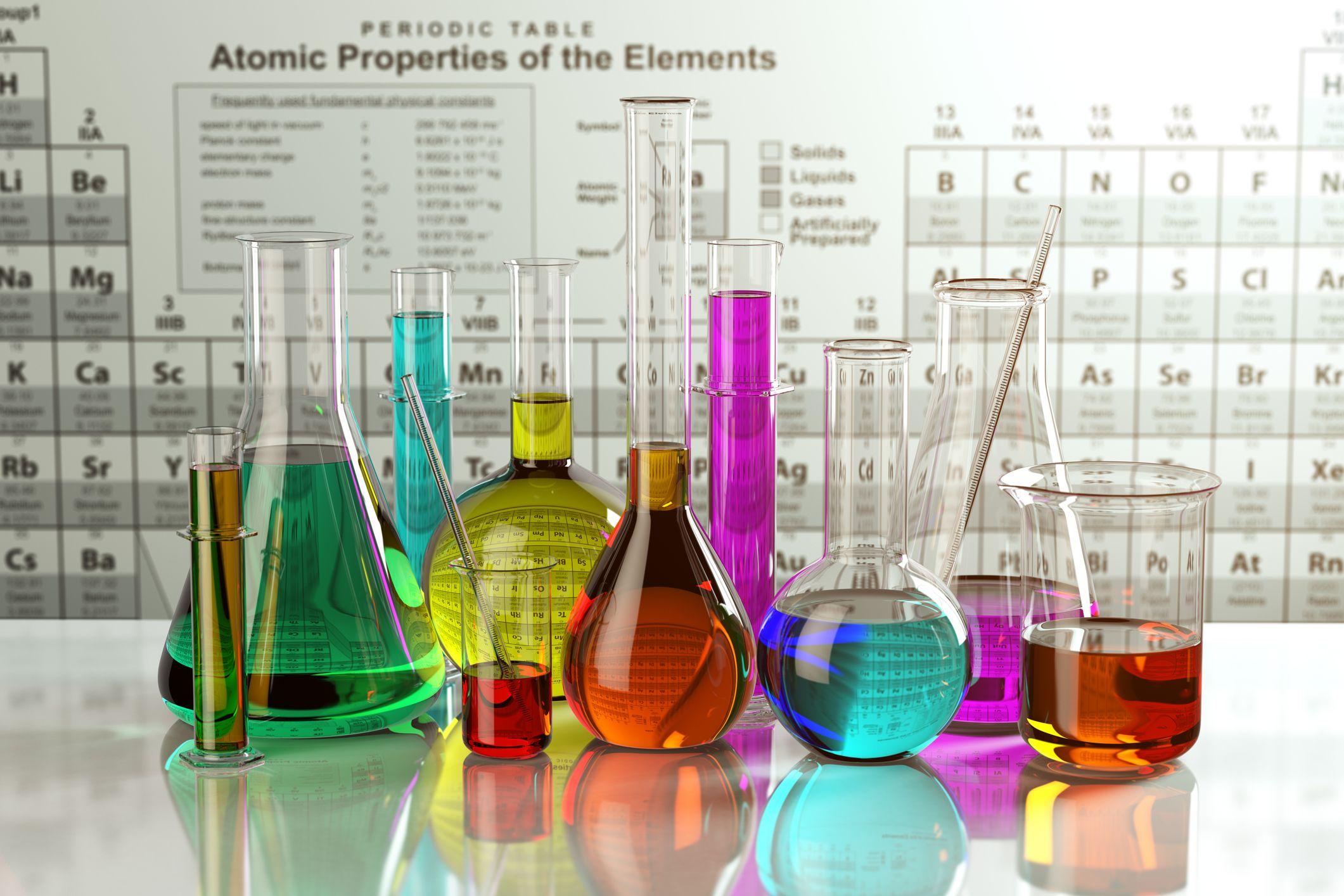 periodic table, chemistry set