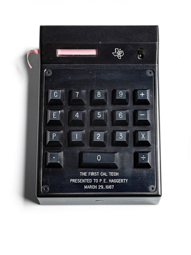 Cal-tech, first hand-held electronic calculator