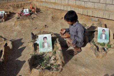 Yemen airstrike US American bombs children civilians