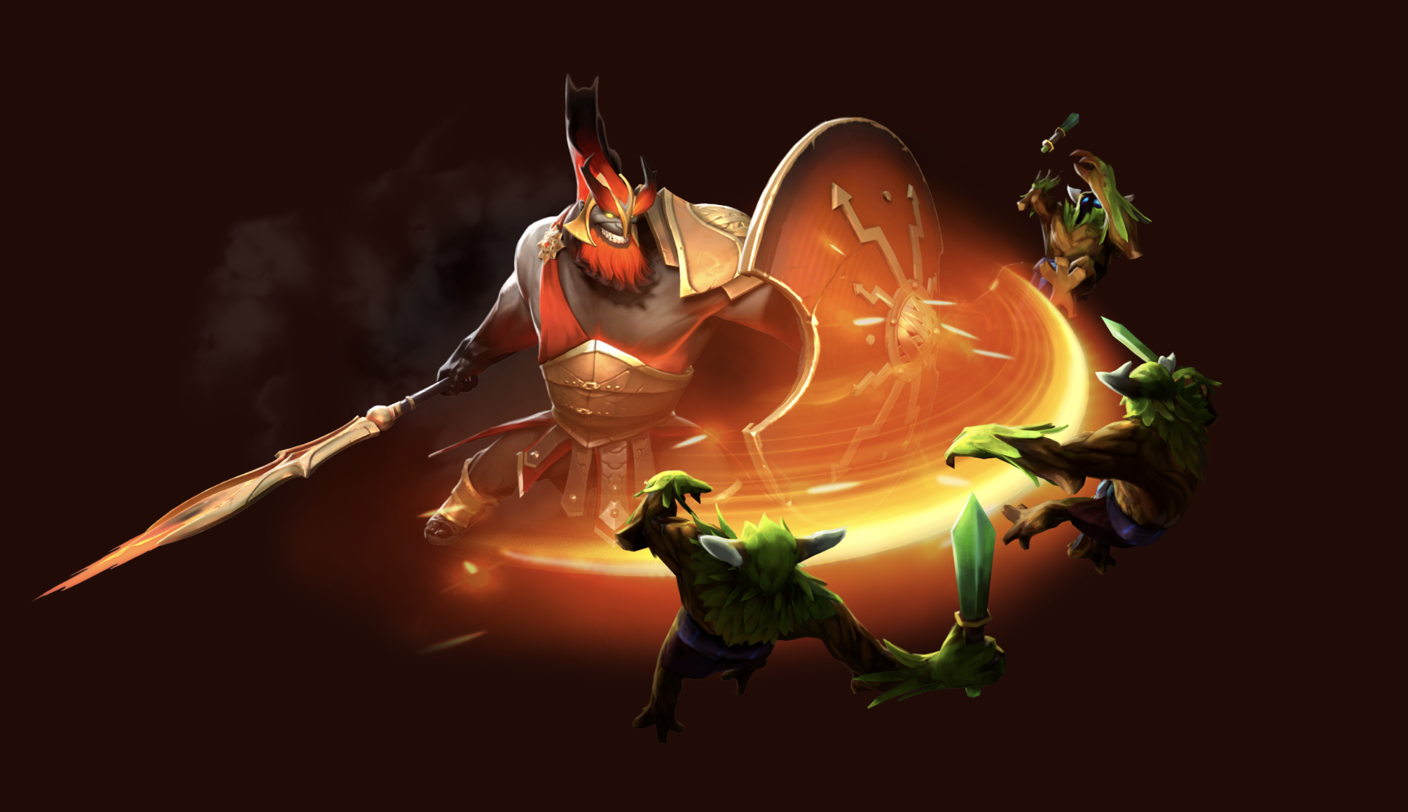 Dota 2 Mars Update New Hero Skills Talents And Responses Plus