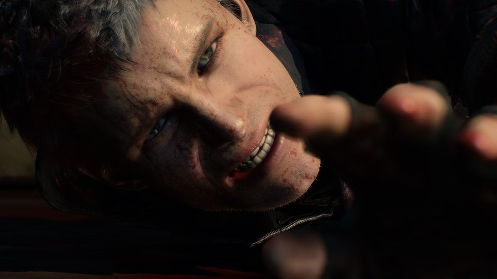 nero devil may cry 5 story mode arm lost