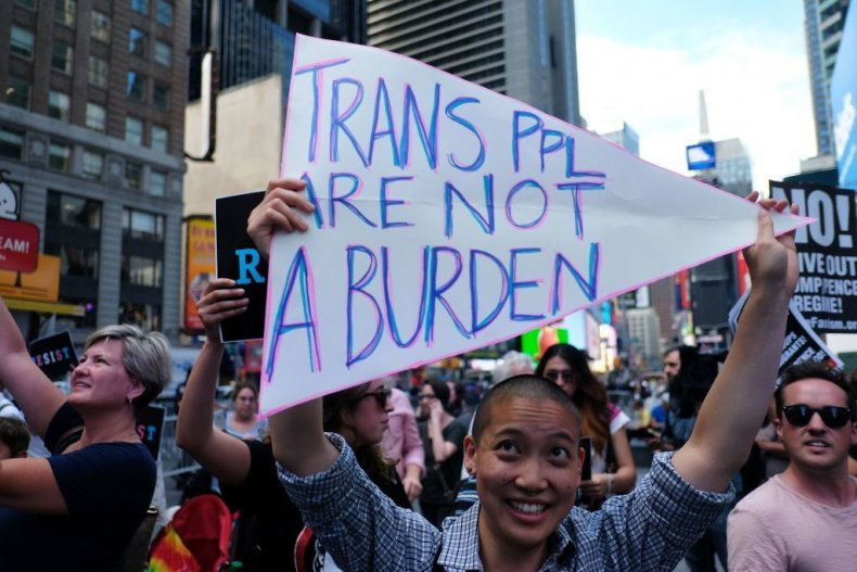LGBT travel trump transgender military ban