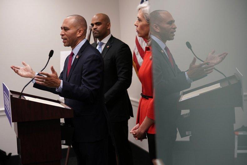 Hakeem, Jeffries, Ilhan Omar, Democrats, divided