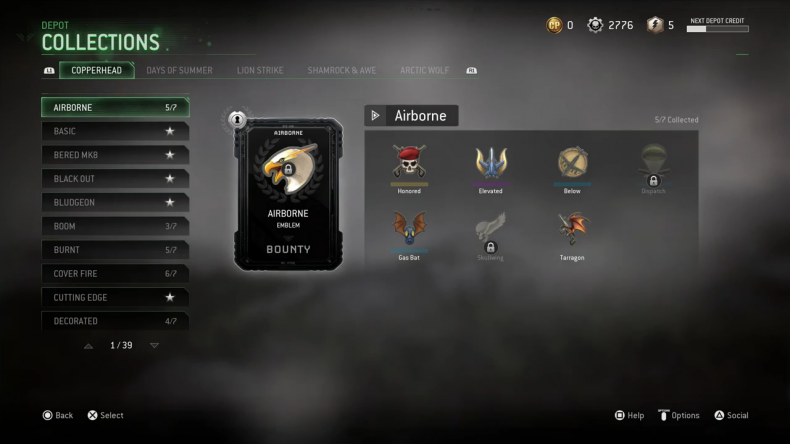 Cod MWR collections