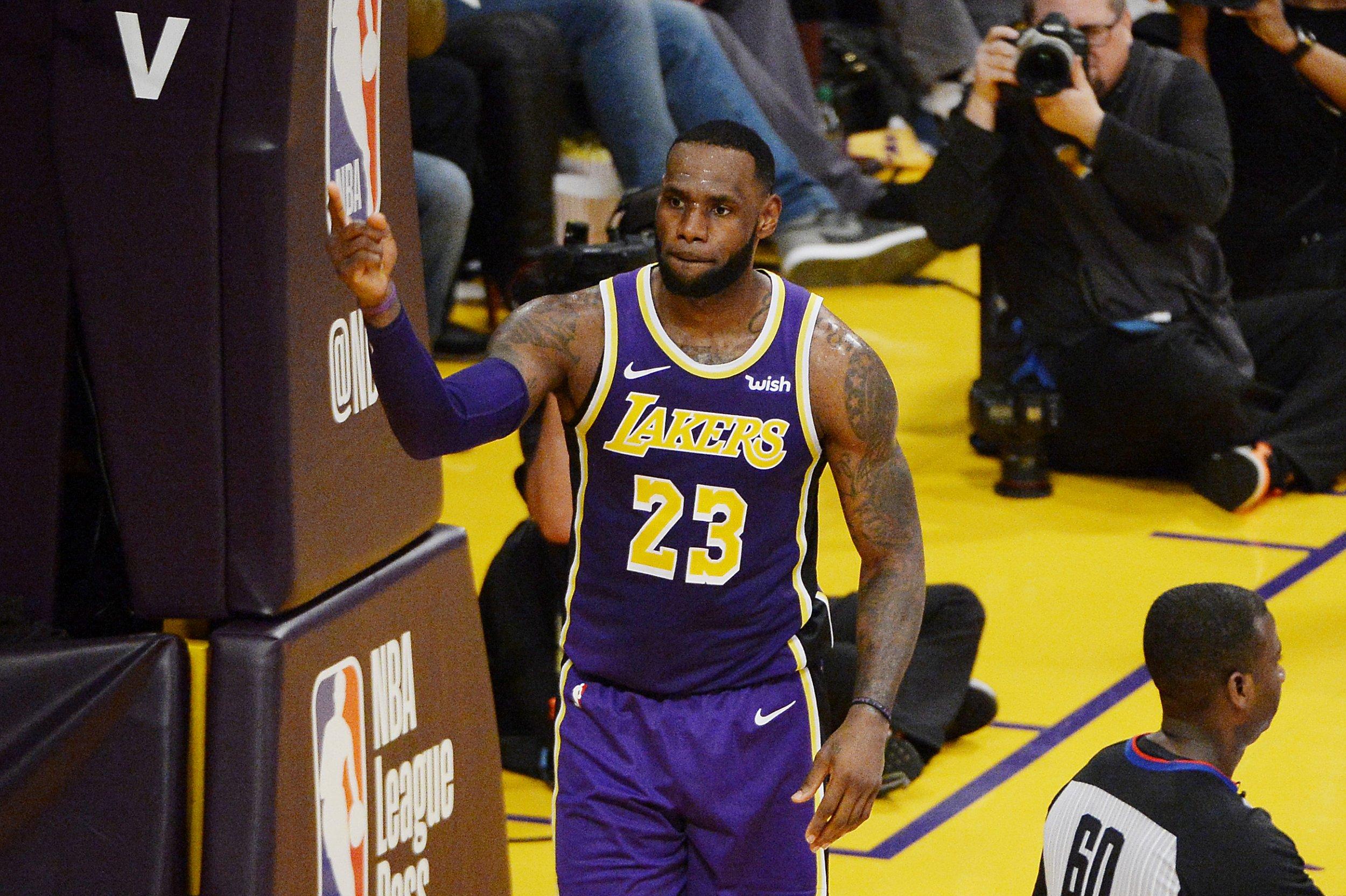 LeBron James, Los Angeles Lakers