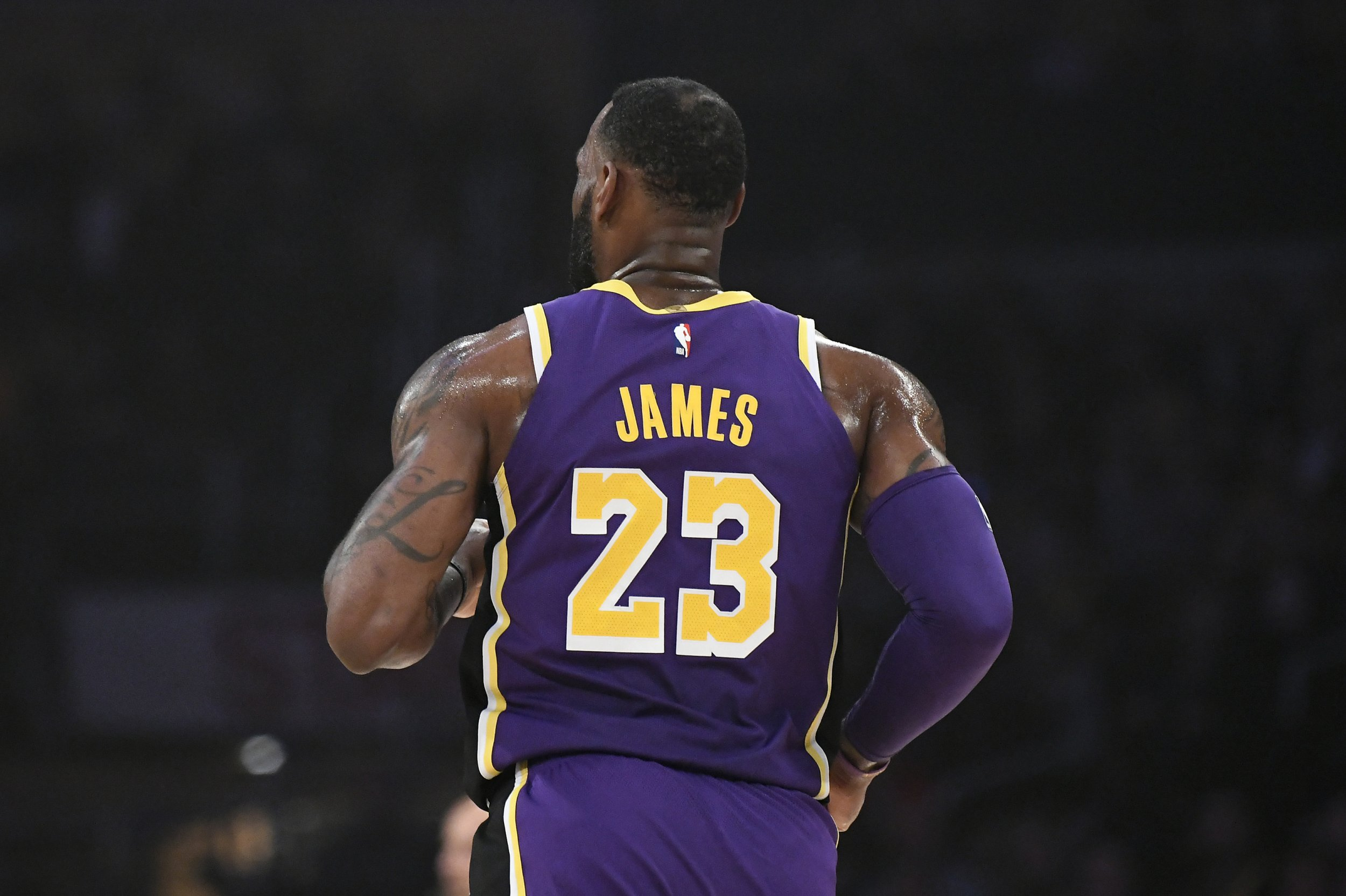 LeBron James, Los Angeles Lakers