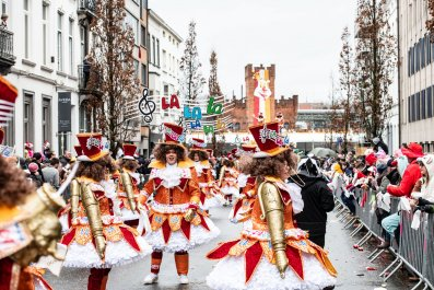 Aalst carnival anti-semitic float Jews