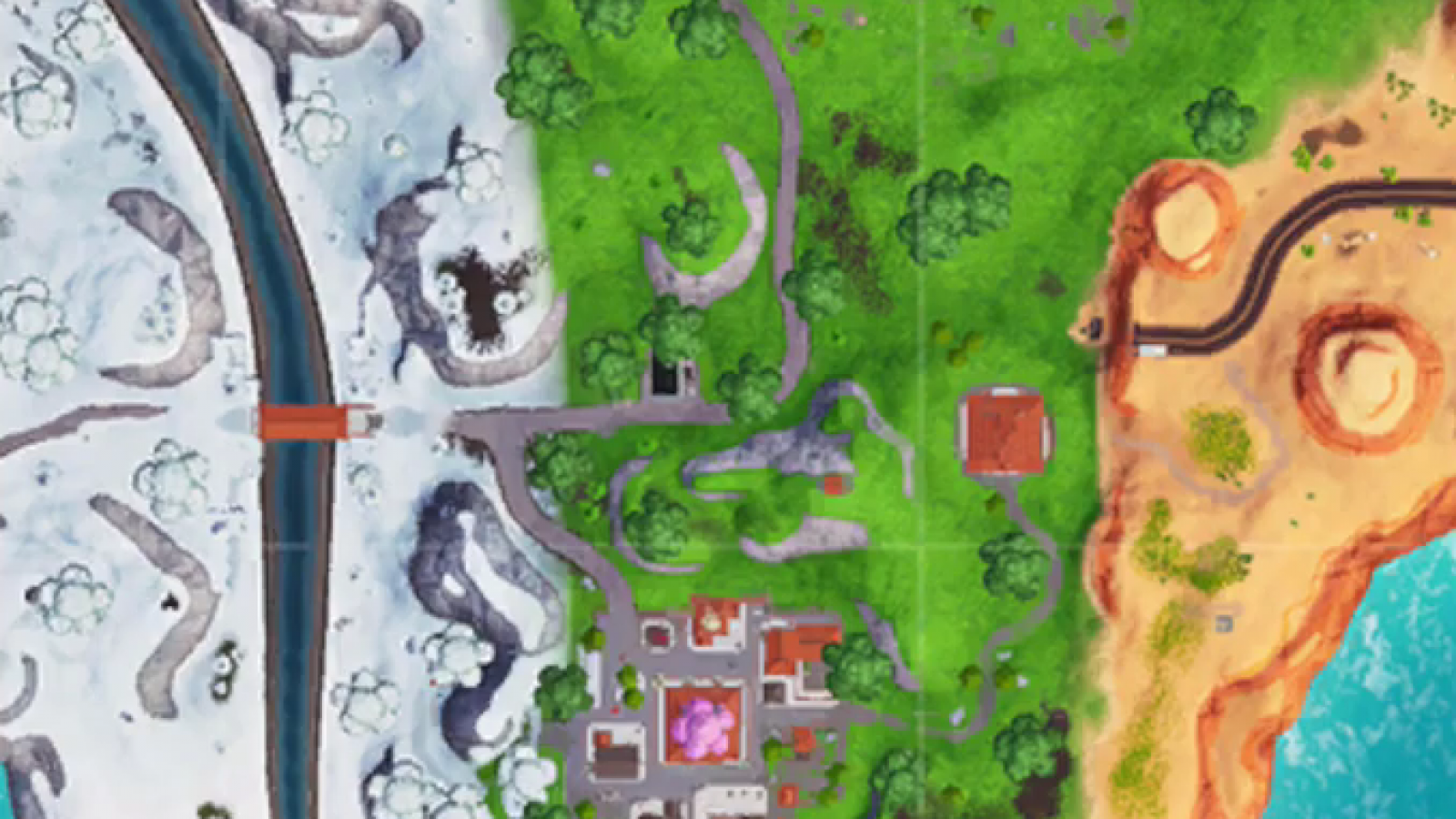Fortnite Furthest North South East West Locations Week 2