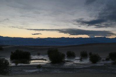 Death Valley, rain