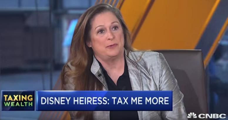 abigail disney tax wealthy