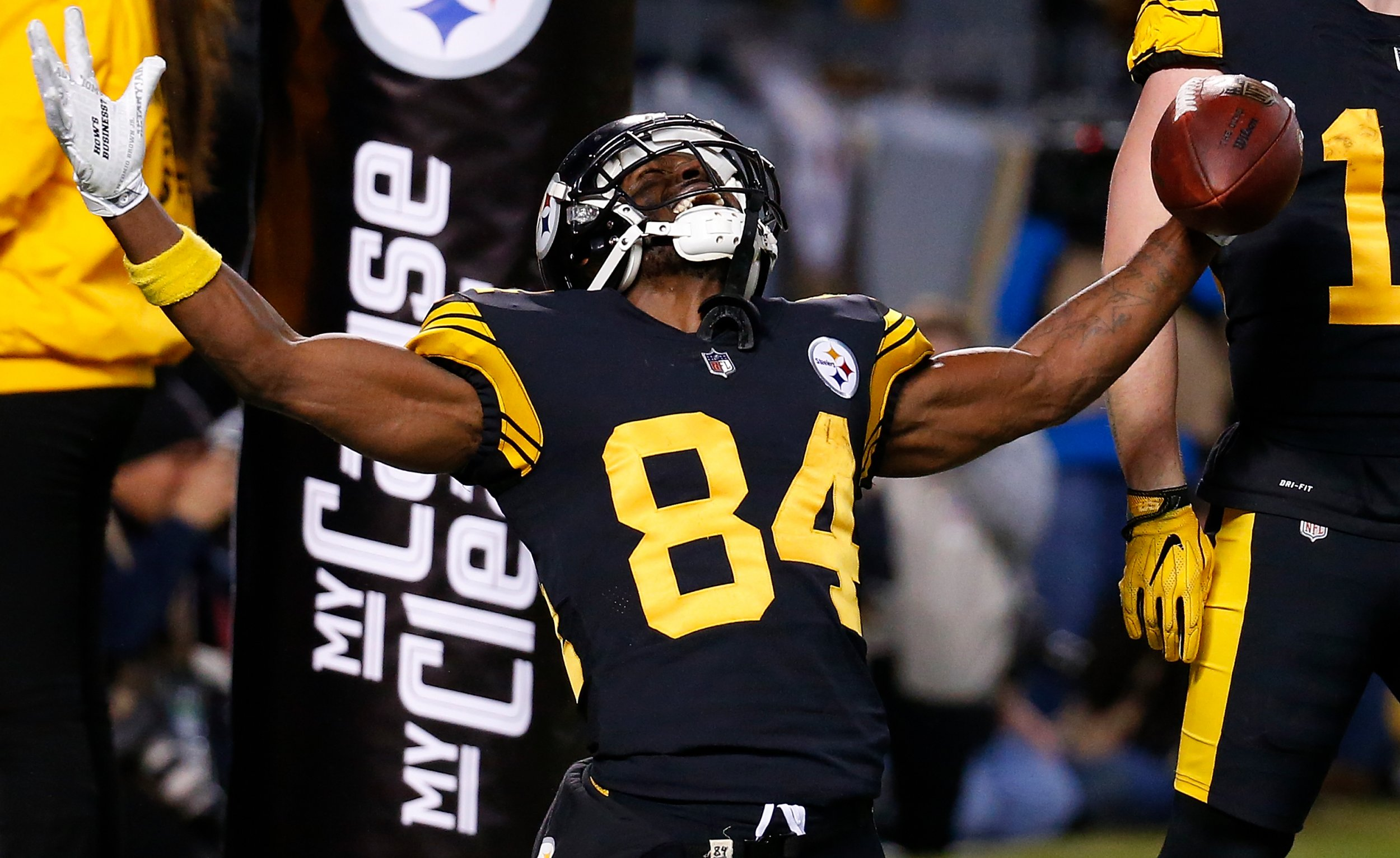 Antonio Brown, Pittsburgh Steelers