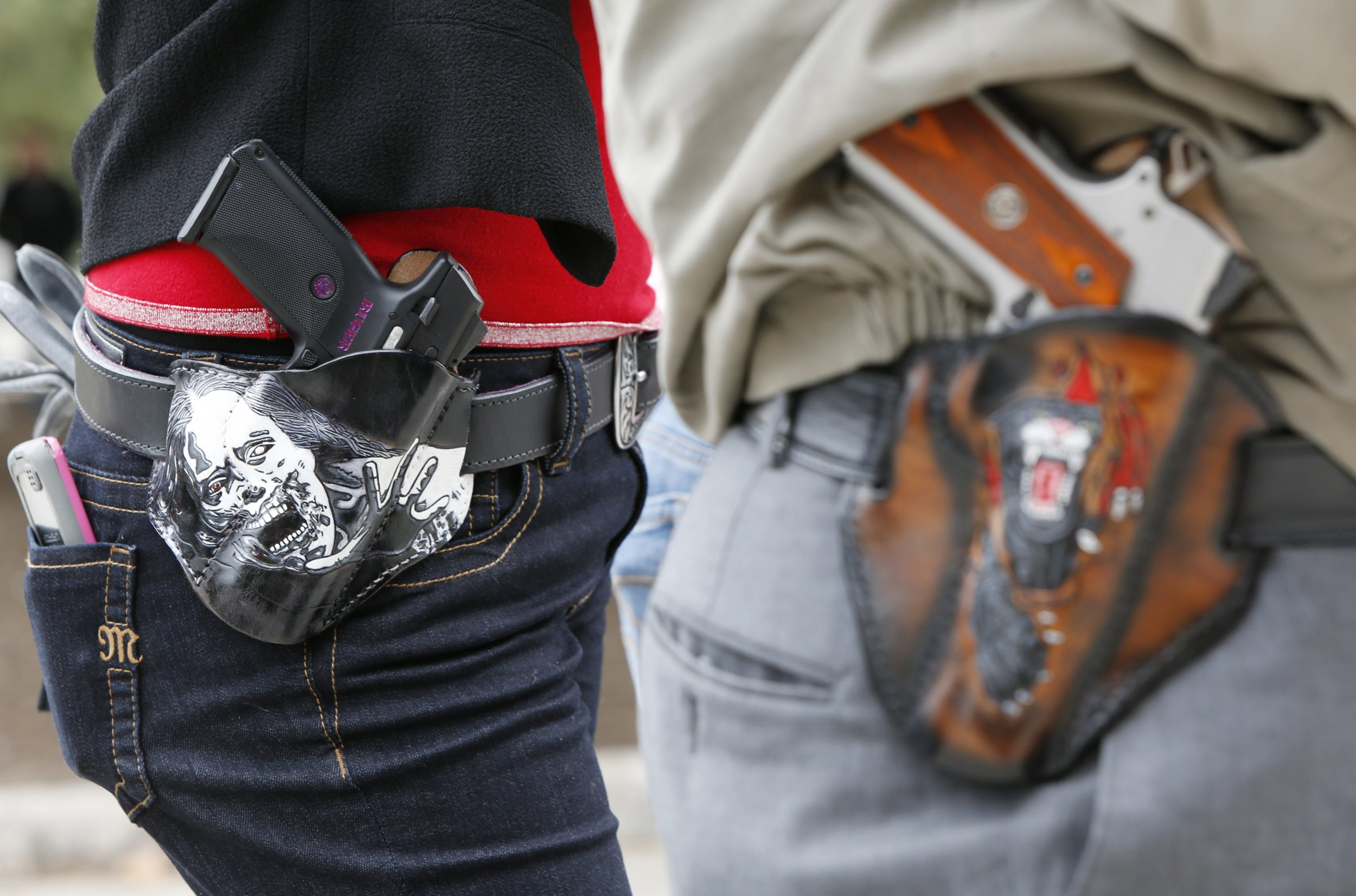 gun rights open carry Stephanie Flowers Arkansas debate