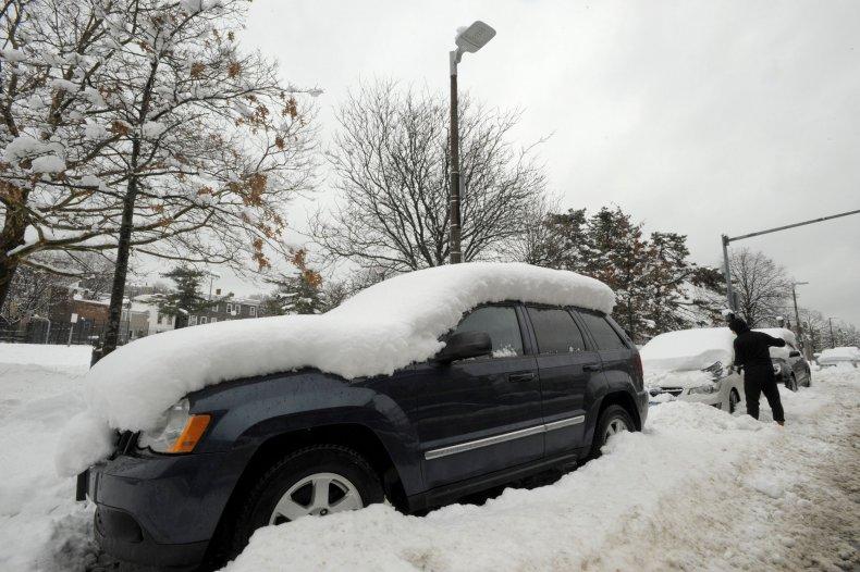 snow in mass