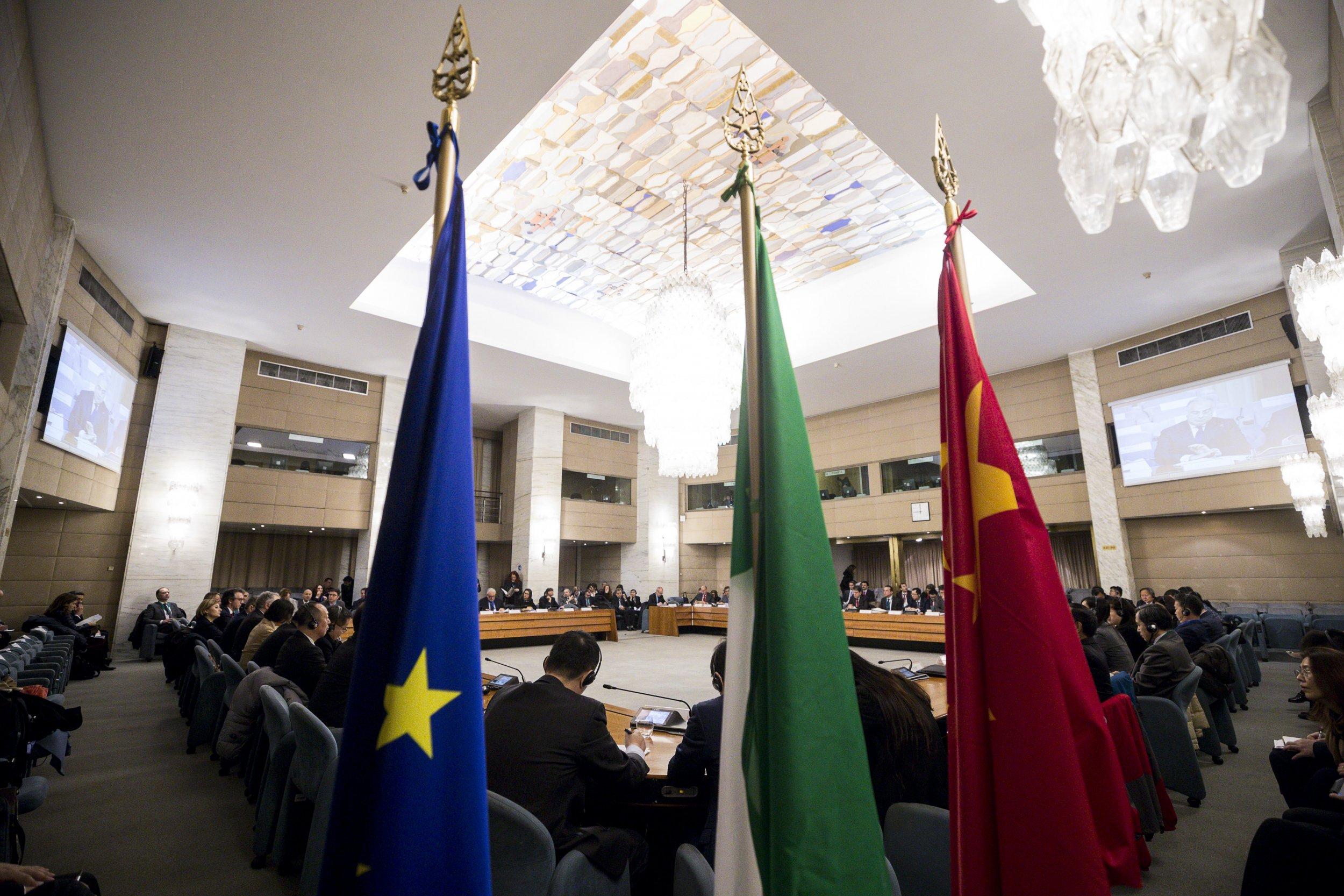 china, italy, economy, trade, meeting, europe