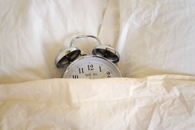 clock in bed dst
